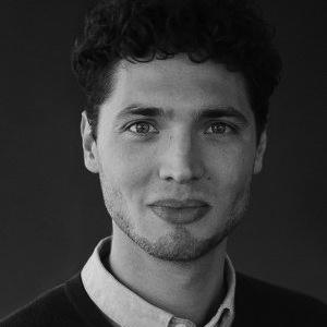 Timon Schinke portrait, Innovation manager at Deustche Bahn