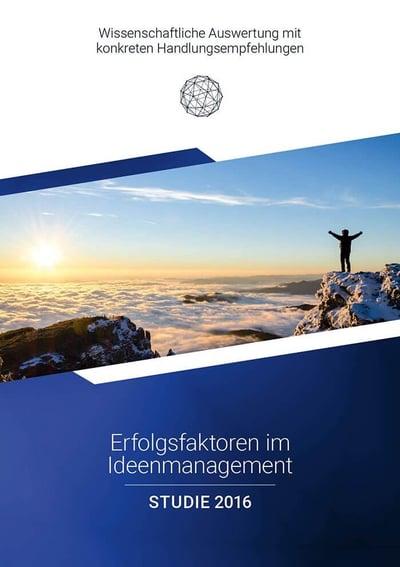 Ideenmanagement Studie 2016 Cover