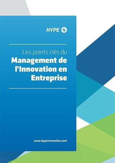page de couverture de la brochure sur les points clés du management de l'innovation