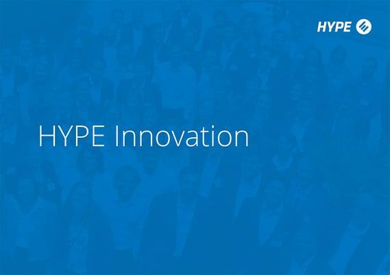 Page de couverture de la brochure HYPE 2020