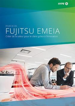 page de couverture de l'étude de cas sur le programme d'innovation de Fujitsu