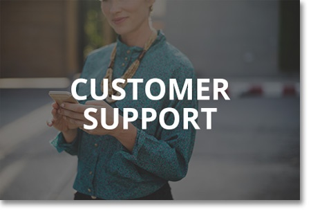 Icon for customer support meeting