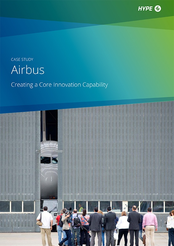 cover page of the Airbus' case-study