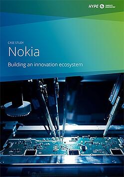 cover page of Nokia case-study