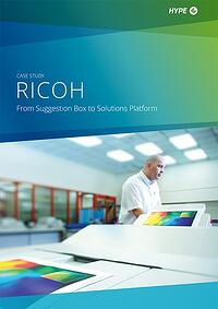 cover page of Ricoh's case-study