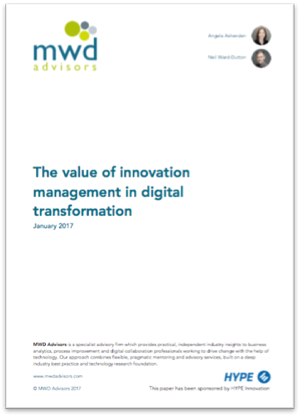 cover page of the report about digital-transformation-
