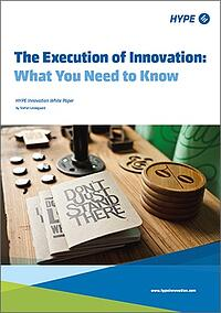 Cover page of the execution of innovation report