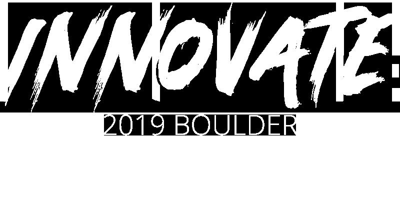 Innovate logo for forum in Boulder